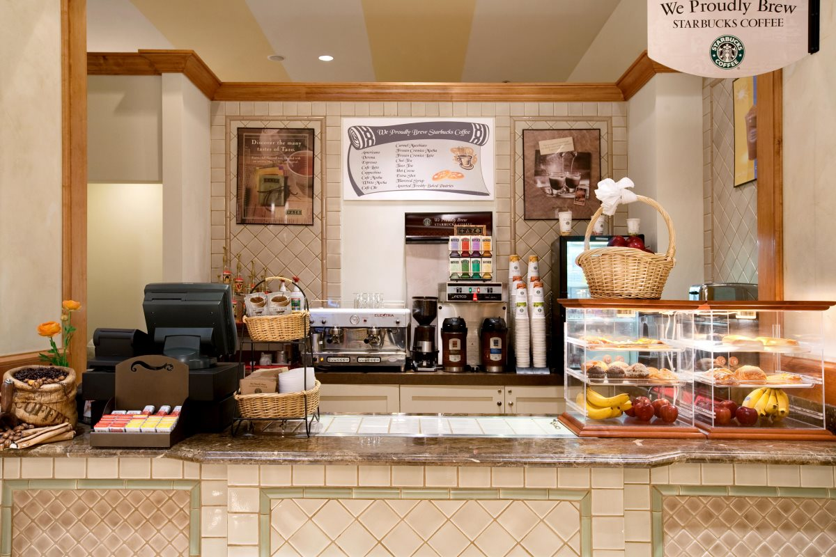 Coffee Bar With Starbucks